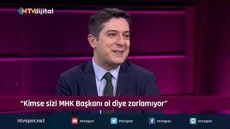 ''Kimse sizi zorla MHK başkanı yapmıyor'' (Futbol Net 3 Ocak 2020)