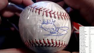 2019 Tristar Autographed Baseball Platinum Edition Box ID 19TRISBBPLAT171