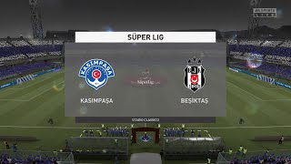FIFA 21 Kasimpasa vs Besiktas Turkey Super Lig 04 04 2021 1080p 60FPS