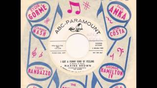 MAXINE BROWN - I Got A Funny Kind Of Feeling - ABC PARAMOUNT