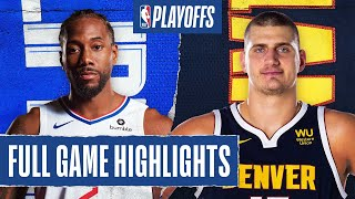 CLIPPERS at NUGGETS | FULL GAME HIGHLIGHTS | September 13, 2020