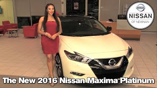 The New 2016 Nissan Maxima - Newnan, Atlanta, LaGrange, GA 2015 Nissan Maxima S SV SL SR