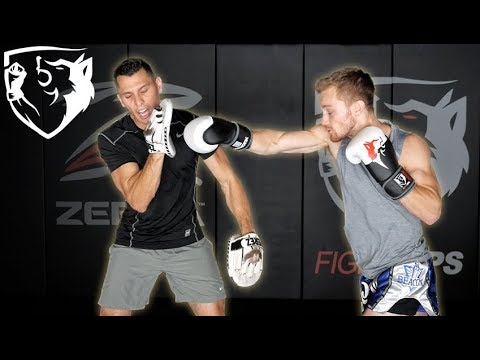 AJ Perez Explains How to Hold Boxing Mitts for Fast/Long Combos