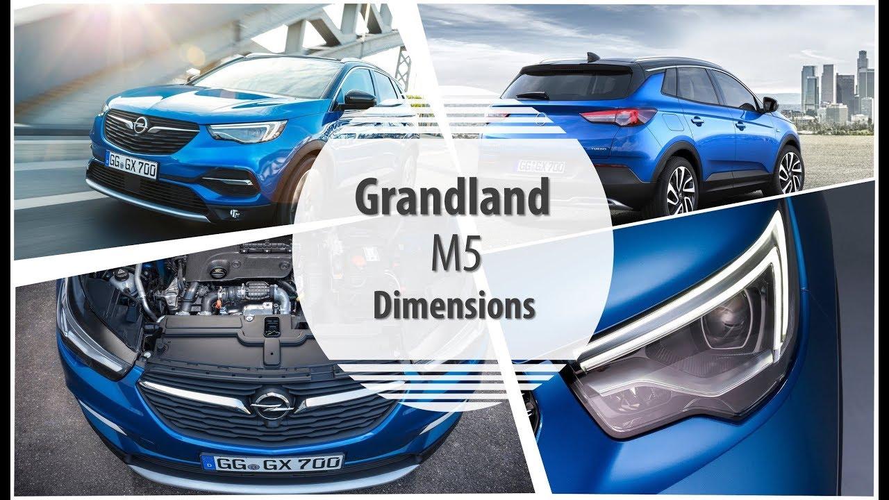 2018 grandland x dimensions review youtube. Black Bedroom Furniture Sets. Home Design Ideas