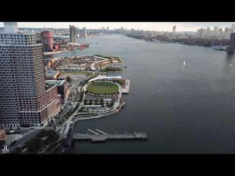 Stunning New York City Long Island City Skyline | 4K