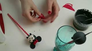 Minnie Mouse Tsum Tsum Cakepops