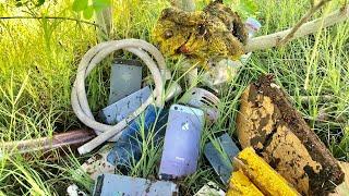 Restoration destroyed abandoned phone   Restore iPhone 5   Rebuild broken phone iphone