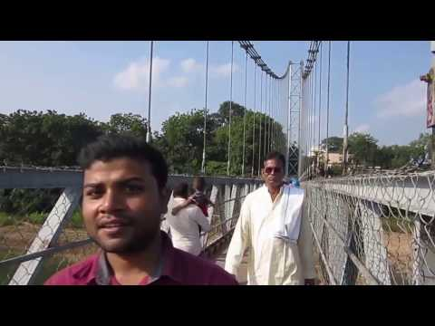 Dhabaleshwar Temple Suspension Bridge, Cuttack, Odisha
