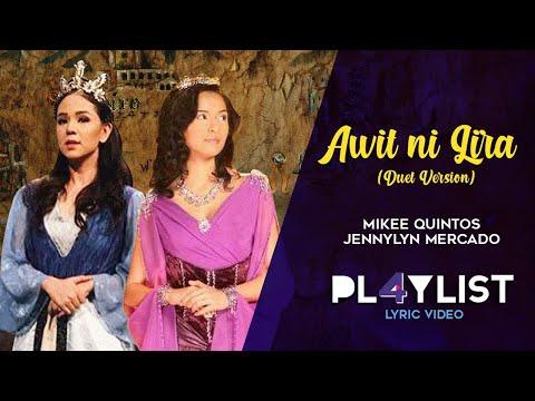 "Playlist Lyric Video: ""Awit ni Lira"" by Jennylyn Mercado and Mikee Quintos ('Encantadia' soundtrack)"