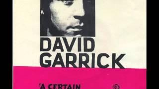 David Garrick - A Certain Misunderstanding
