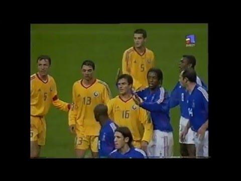 2002: FRANȚA - ROMÂNIA 2-1