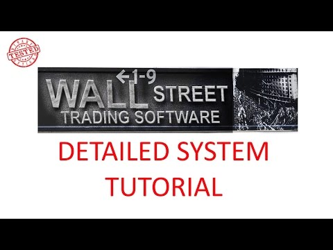 Wall Street Trading Software Detailed Walkthrough Registration System Tutorial