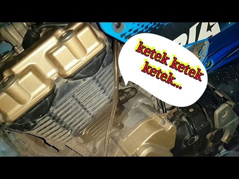 Tips Mengatasi Bunyi Berisik Di Mesin Suzuki Satria F150 || Ubah Tensioner Manual