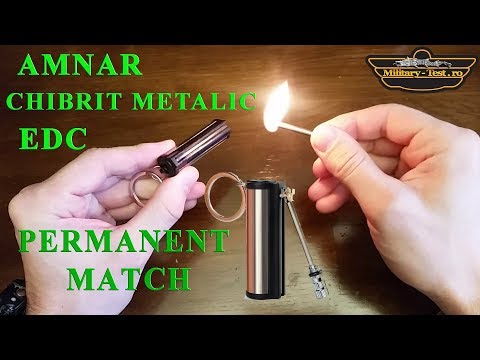 Amnar Chibrit metalic Permanent match Fire flint Ferrocerium EDC Outdoor