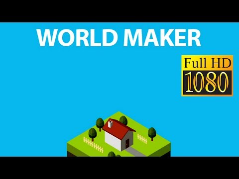 WorldMaker - Puzzle × Town Game Review 1080p Official Olivia Ashley