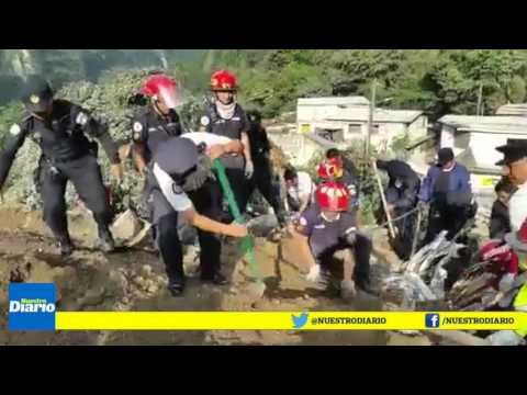 Alud en Guatemala deja al menos 26 muertos y más de 600 desaparecidos