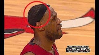 """NBA """"HeadBand Off"""" Moments"""