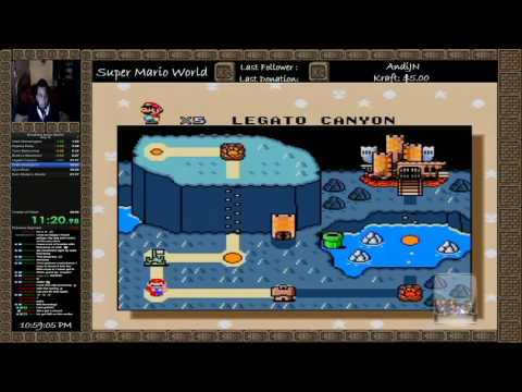 BreakFast Kaizo World WR 25:13 OLD NOT WR Anymore