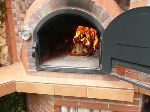 Como encender el horno de le a youtube for Como hacer un horno de lena de hierro