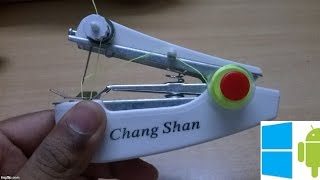 43) Stapler model mini sewing machine unboxing (shopclues)
