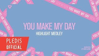 Video SEVENTEEN(세븐틴) - 5TH MINI ALBUM 'YOU MAKE MY DAY' HIGHLIGHT MEDLEY download MP3, 3GP, MP4, WEBM, AVI, FLV Juli 2018