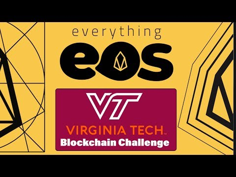 Virginia Tech | Department of Computer Science | JW & BlockchainBois / everything EOS interview