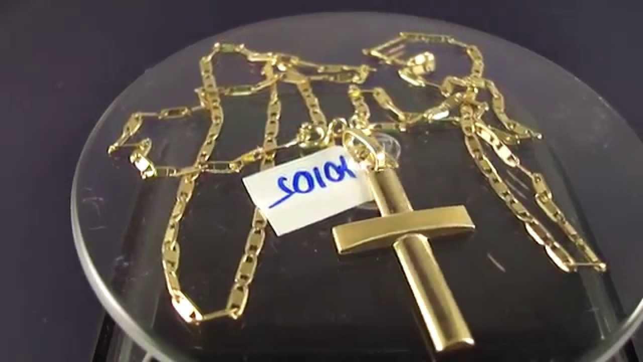 aa1aa884c67 Corrente - cordão em Ouro 18K Piastrine 5
