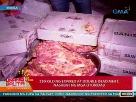 UB: 250 Kilo Ng Expired At Double Dead Meat, Nasabat Ng Mga Otoridad Sa Manila