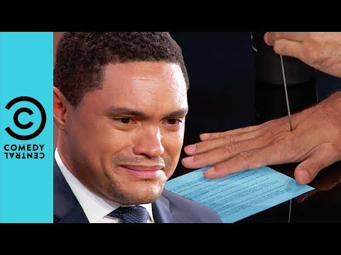 "David Blaine Performs His Famous ""Ice Pick"" Trick 