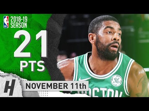 Kyrie Irving Full Highlights Celtics vs Blazers 2018.11.11 - 21 Pts, 6 Assists