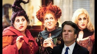 WITCHES GATHERING TO CAST A SPELL ON KAVANAUGH & GUESS WHERE THE PROCEEDS ARE GOING?