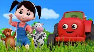 cor da fazenda   cores canção   rimas para crianças   Color Of The Farm   Farmees Português