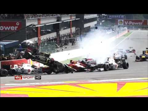 SKY Sport HD Werbung 2013 Crash F1 Formel1 Bundesliga