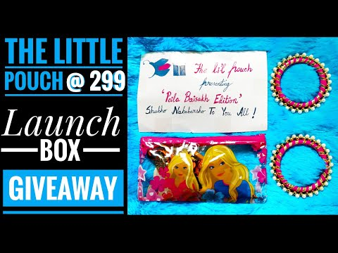 Giveaway | *NEW* Little Pouch | Jewelry box @ 299| Free shipping | Unboxing and Review