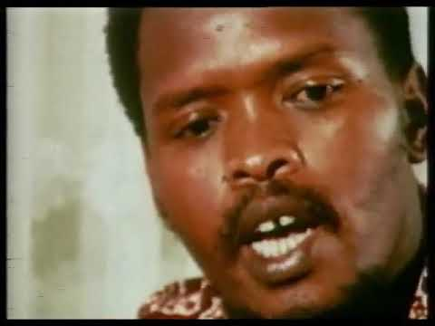 Steve Biko - rare TV interview