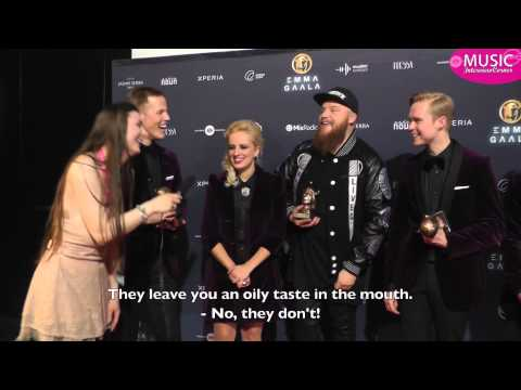 KASMIR and HALOO HELSINKI at Emma Gaala 2015 (Finnish with English subs)