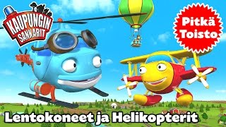 """Kaupungin sankarit – Non-Stop! Long Play """"Lentokoneet ja Helikopterit"""" – 3 jaksoa peräkkäin"""