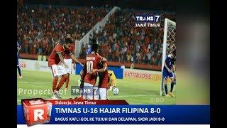 TRANS7 JATIM - Ini Rahasia Timnas U-16 Sukses Gelontor Filipina 8 Gol