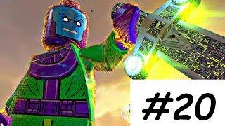 LEGO Marvel Superheroes 2 Walkthrough PART 20 CONQUERING KANG