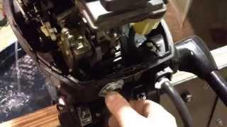 1989 Mercury 9.9L 2-Stroke Short Shaft Outboard Motor