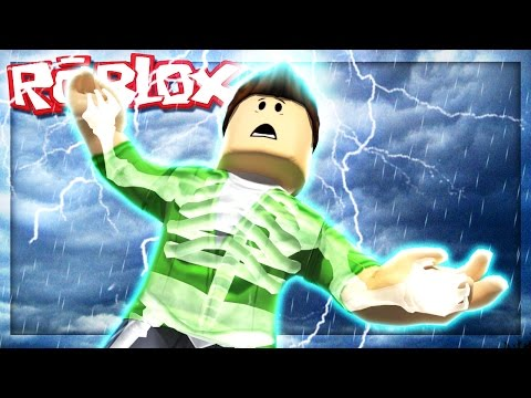 STRUCK BY LIGHTNING IN ROBLOX! (Roblox Disaster Master)