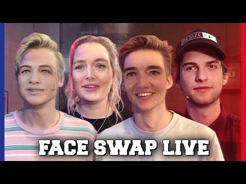 Raadt Kelvin dat hij Nina is bij Face Swap Live Challenge?!|Kelvin, Jill, Gio Kaj|Challenges Cup #16