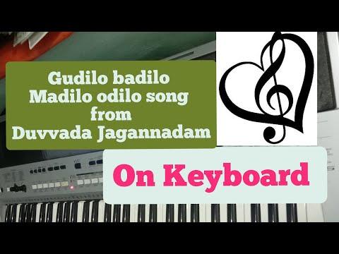 gudilo badilo madilo vodilo |Asmaika yoga |DJ song on keyboard|Duvvada Jagannadam|Allu Arjun Song