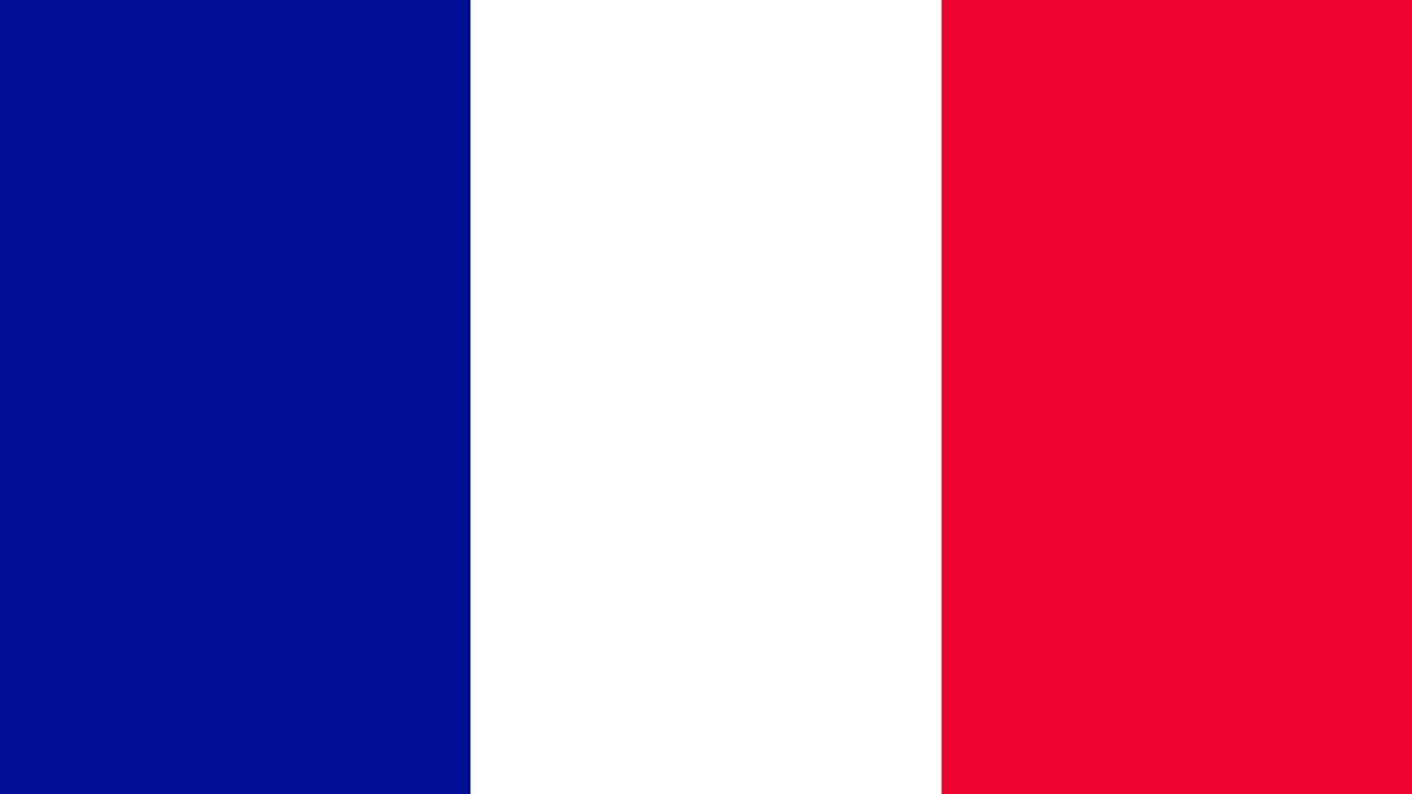 Bandera E Himno Nacional De Francia