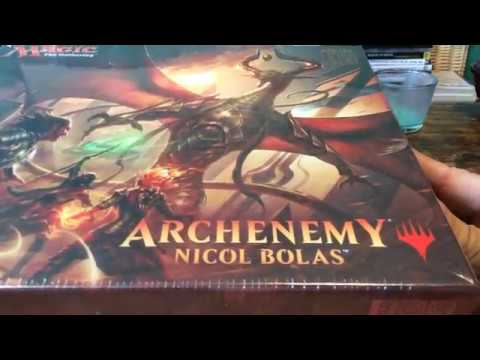 MTG: Archenemy: Nicol Bolas Opening!