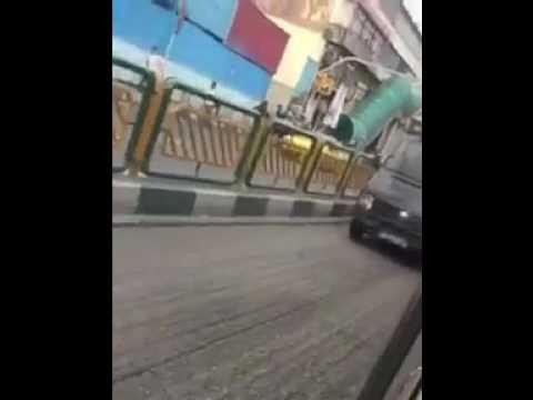 تهران فضای حکومت نظامی به خود گرفت