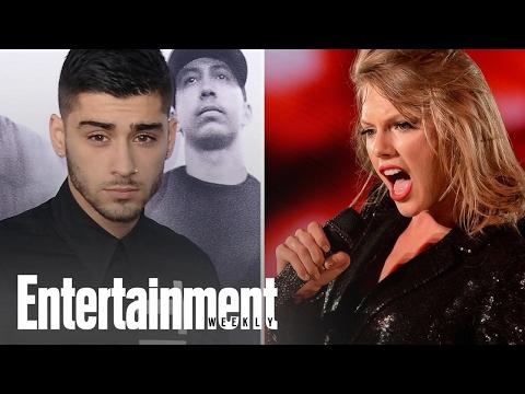 Taylor Swift And Zayn Malik Debut New Fifty...