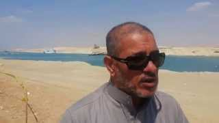 See what a citizen in the new Suez Canal, said during his visit in Easter