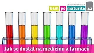 Jak se dostat na lékařské fakulty, medicínu a farmacii a udělat přijímačky www KamPoMaturite cz