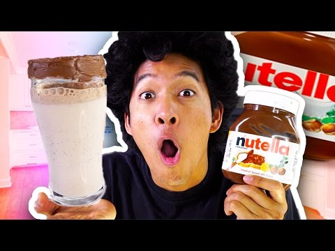 DIY HOW TO MAKE NUTELLA SODA!!!